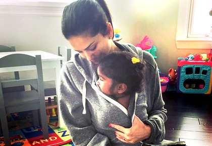 Sunny Leone's adorable gift for daughter Nisha