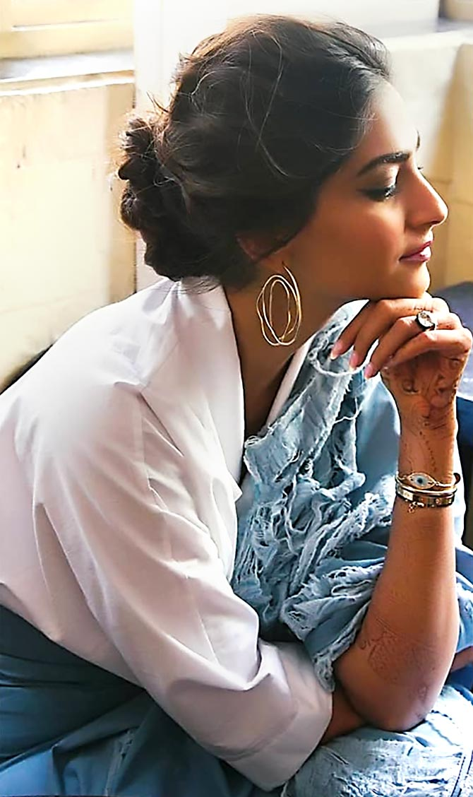 Sonam Kapoor bracelets