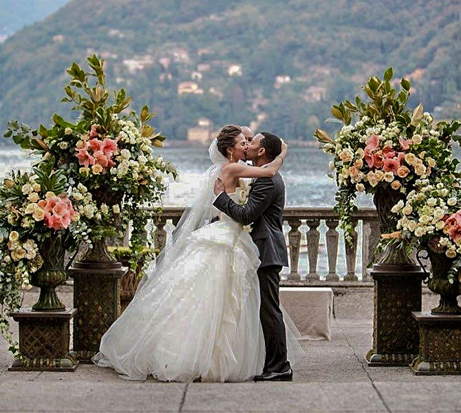 The Other Celebrity Couple Who Got Married At Lake Como
