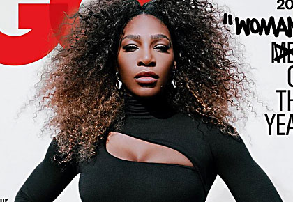 Latest News from India - Get Ahead - Careers, Health and Fitness, Personal Finance Headlines - Off-duty chic! Serena's black bodysuit is downright sexy