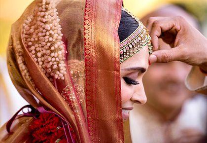The 'real' story behind Deepika's wedding sari - Rediff ...