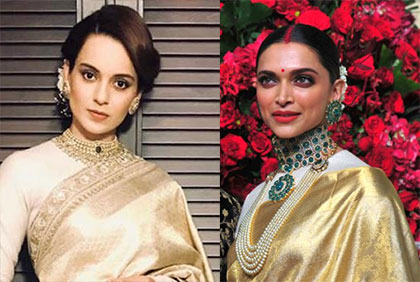 Latest News from India - Get Ahead - Careers, Health and Fitness, Personal Finance Headlines - Was Deepika's wedding look inspired by Kangana?