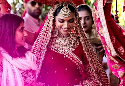 Latest News from India - Get Ahead - Careers, Health and Fitness, Personal Finance Headlines - Deepika, Priyanka or Sonam: Vote for the most beautiful bride in red