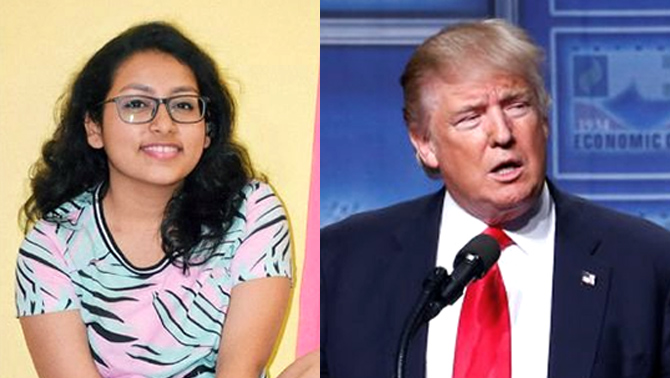 How Astha Sarmah took on Donald Trump