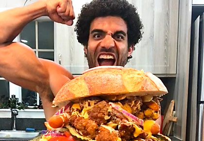 Latest News from India - Get Ahead - Careers, Health and Fitness, Personal Finance Headlines - OMG! This man eats 5,000 calories a day