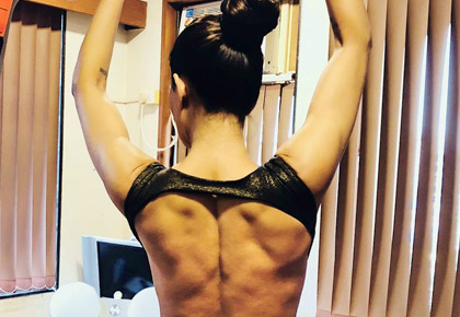 Latest News from India - Get Ahead - Careers, Health and Fitness, Personal Finance Headlines - #Fitspiration: Sushmita Sen shows off sexy back