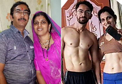 Latest News from India - Get Ahead - Careers, Health and Fitness, Personal Finance Headlines - Why this couple's weight loss journey has gone viral