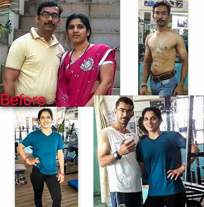why this couple s weight loss journey has gone viral rediff com