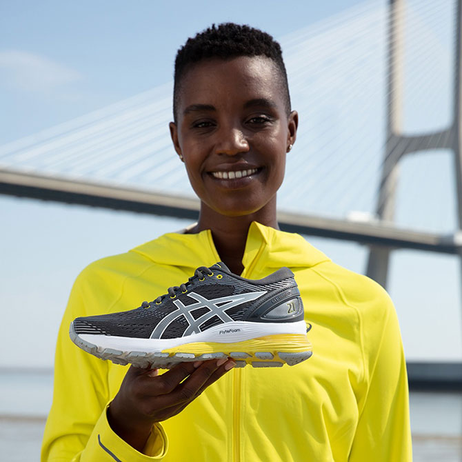 Asics Gel-Nimbus 21: The best shoe for