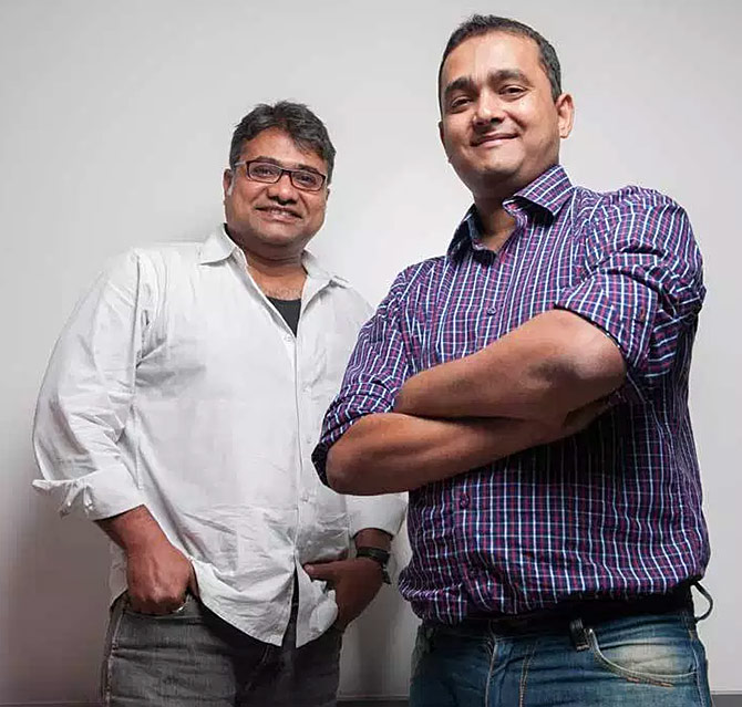 Faasos founders Jaydeep Barman and Kallol Banerjee