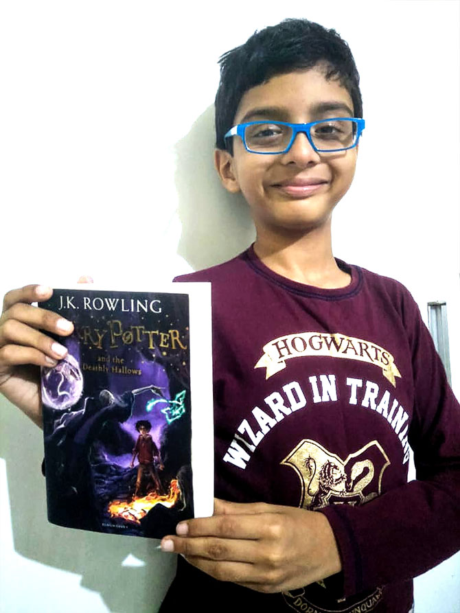 Meet Vihaan, 9, a Potterhead