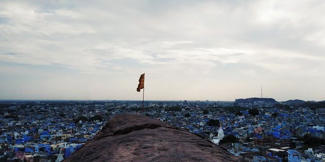 Jodhpur, the blue city of India