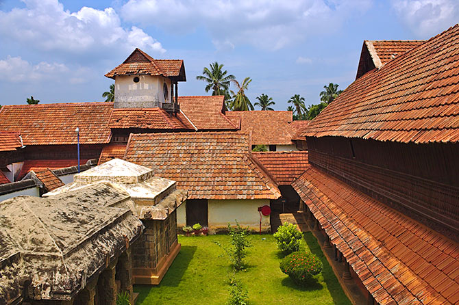 The Padmanabhapuram Palace at Padmanabhapuram, Thackalay, Tamil Nadu. Photograph: Courtesy Shishirdasika/Wikimedia Commons.