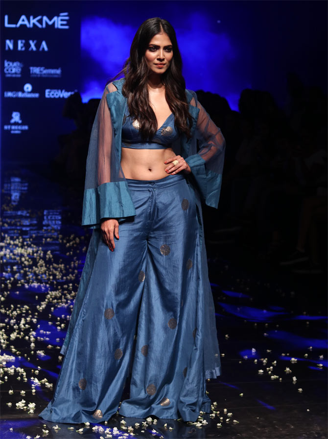WATCH: Malavika Mohanan sets the ramp on fire!