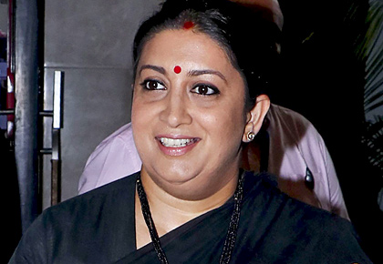 How Smriti Irani plans to save Planet Earth