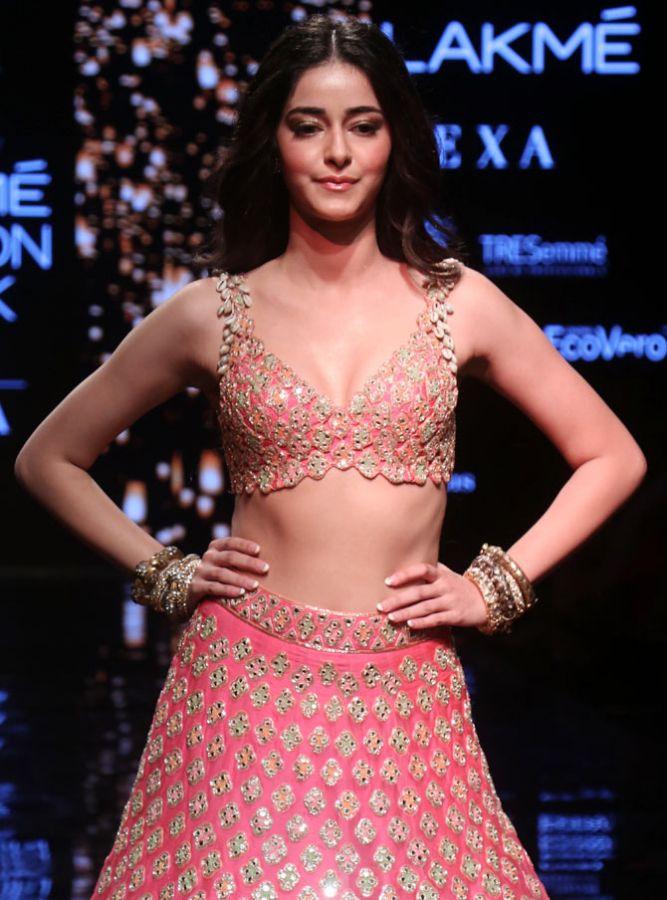 Ananya Panday walks for Arpita Mehta