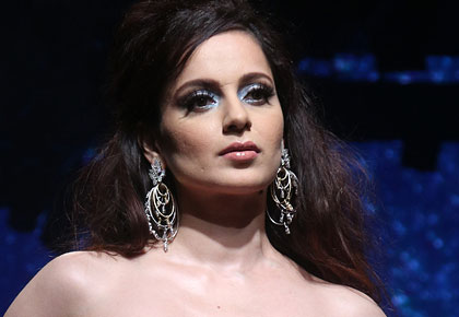 PIX: Kangana's sassy turn on the ramp!