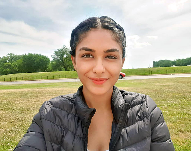 Mrunal Thakur has a message on sustainability for you - Rediff.com Get Ahead