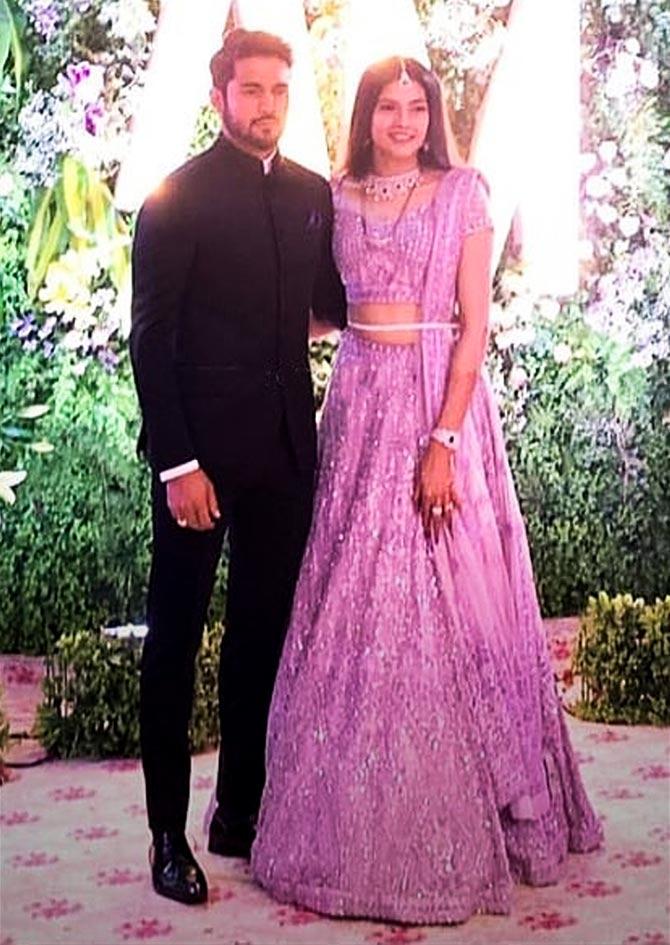 Pics: Manish Pandey and Ashrita Shetty's wedding looks ...