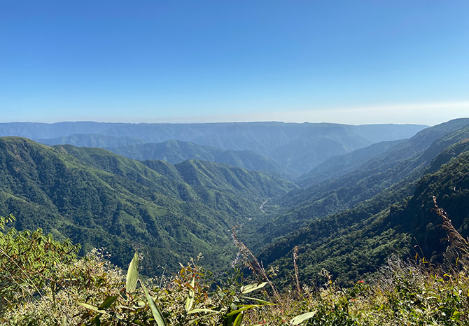 Meghalaya's Dancing Cloud valley