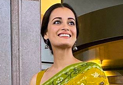 Dia Mirza wears 15-yr-old sari, wins the Internet