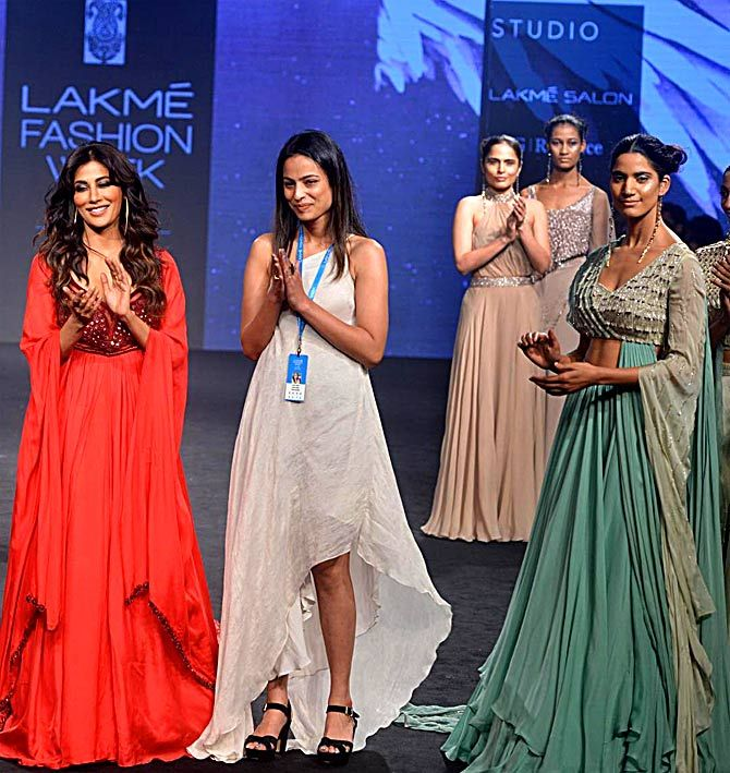 Chitrangada Singh walks for Anjali Verma