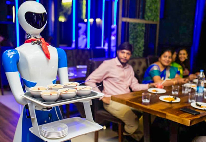 Latest News from India - Get Ahead - Careers, Health and Fitness, Personal Finance Headlines - WATCH: Inside Chennai's Robot themed restaurant