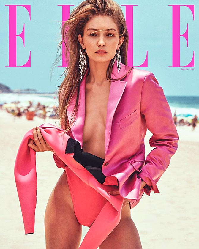 Latest News from India - Get Ahead - Careers, Health and Fitness, Personal Finance Headlines - Pretty in pink! Gigi Hadid goes bold for Elle