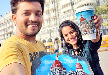 Latest News from India - Get Ahead - Careers, Health and Fitness, Personal Finance Headlines - This couple is giving a new life to India's landmarks