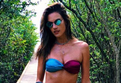 Latest News from India - Get Ahead - Careers, Health and Fitness, Personal Finance Headlines - Pics: Alessandra Ambrosio is a bikini beauty