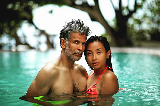 How Ankita fell in love with Milind Soman