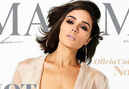 World's Sexiest Woman Olivia Culpo goes braless on mag