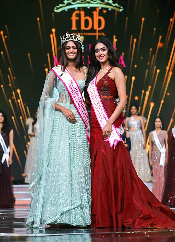 First look: Meet the winners of Miss India 2019 - Rediff