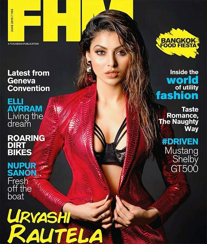Whoa! Urvashi's cover is so SEXY