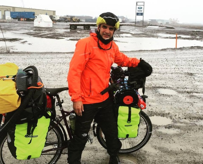 Motorcycle Diaries: Arctic to the Andes: A 15,000-km ride
