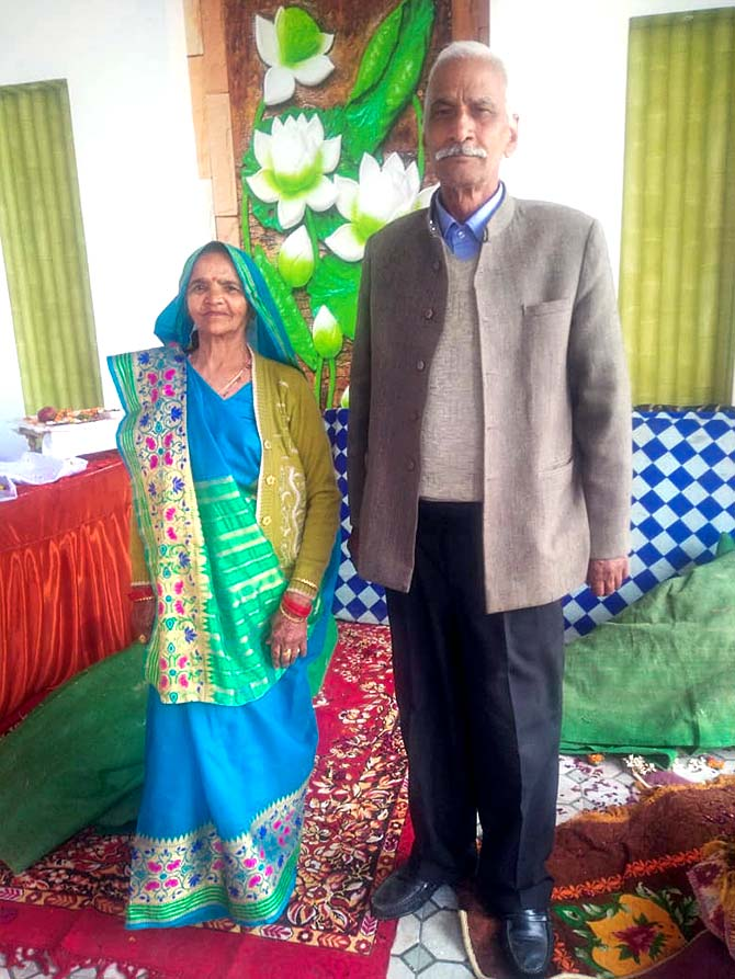 Sudhir Kumar's parents