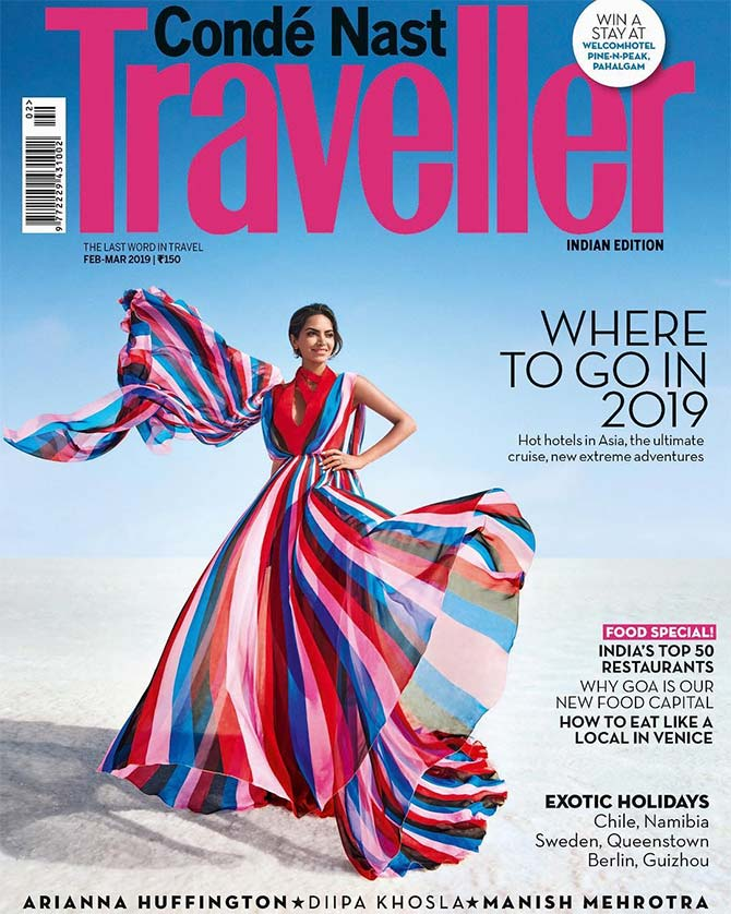Meet Conde Nast Traveller S Cover Girl For March Rediff Com Get Ahead