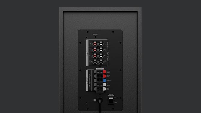 Gadgetreview Logitech Z607 5 1 Speakers Deliver Crisp
