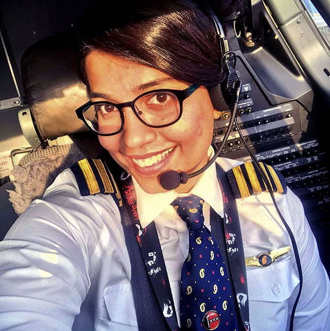 Flight commander Rucha Nirale