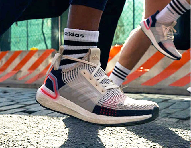 81fc9ae16 Why is Kendall Jenner showing off the Adidas Ultraboost 19  - Rediff ...