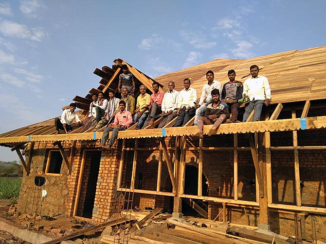 The couple work with skilled carpenters providing them employment and helping them contribute to economy