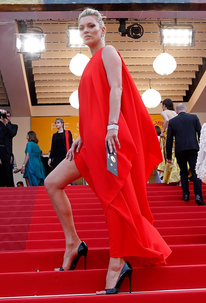 Kate Moss at Cannes