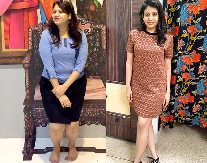 Mahima Seth shares her weight loss journey