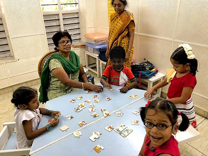 Why Chennai loves this special school for the deaf - Rediff.com India News