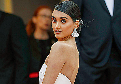 The Indian model who ruled the Cannes red carpet