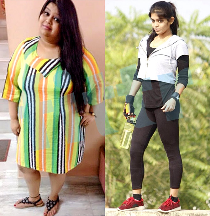 INCREDIBLE! This girl lost 39 kilos in 12 months