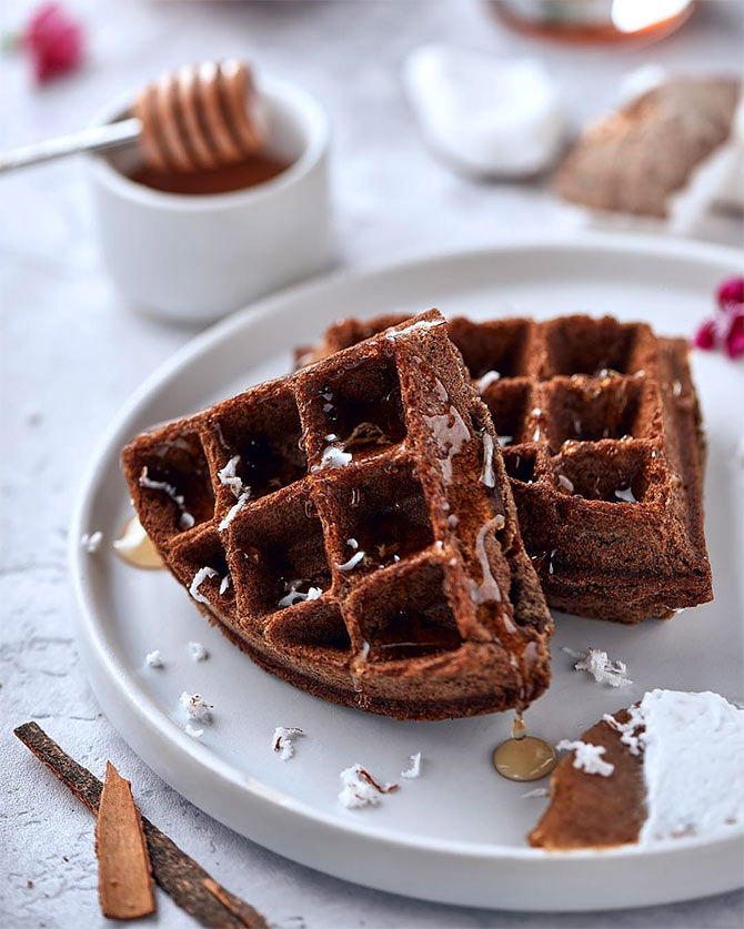 Breakfast recipe: How to make Ragi Waffle