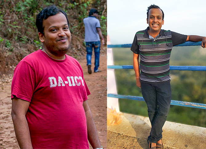 How Nimit Agarwal lost weight
