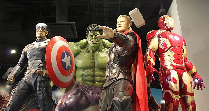 Want to become Thor? Iron Man? Hulk?