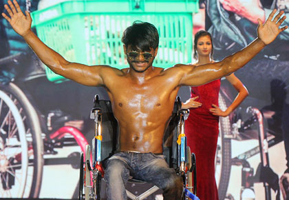 In Pics: Heroes in wheelchairs take over the ramp